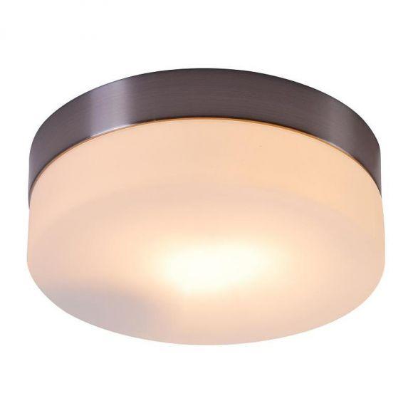 Deckenleuchte aus Opalglas,  Durchmesser 18 cm, E 27 inklusive 60W, IP 20