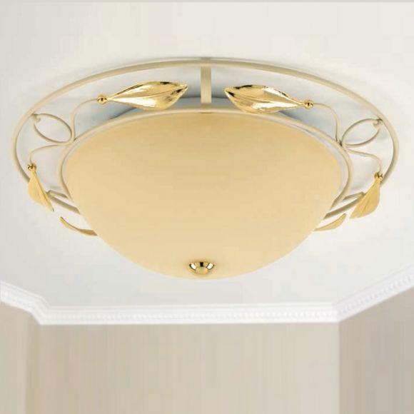 deckenleuchte im florentiner stil durchmesser 41 cm 2x 42 watt 41 00 cm wohnlicht. Black Bedroom Furniture Sets. Home Design Ideas