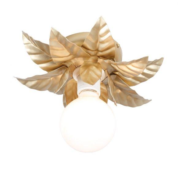 Deckenleuchte in gold florentiner stil 27 cm wohnlicht for Deckenleuchte gold