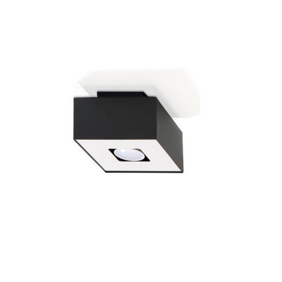 LHG Deckenleuchte Mono in vier Ausführungen schwarz/weiß