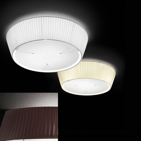 deckenleuchte plissee lampschirm 60 cm 3 farben wohnlicht. Black Bedroom Furniture Sets. Home Design Ideas