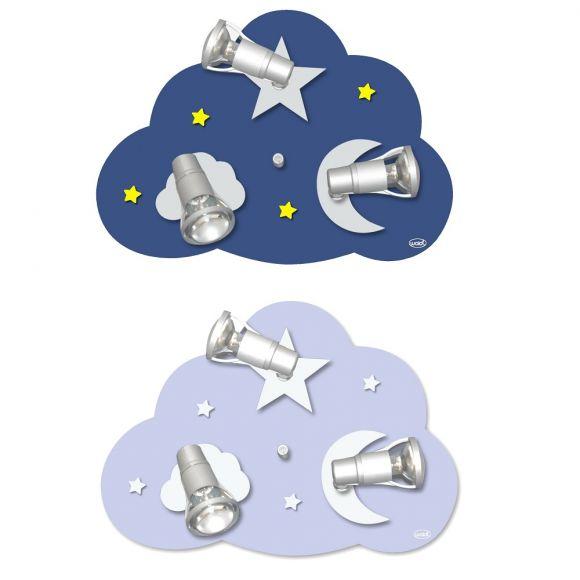 Deckenleuchte Wolke Starlight in zwei Varianten