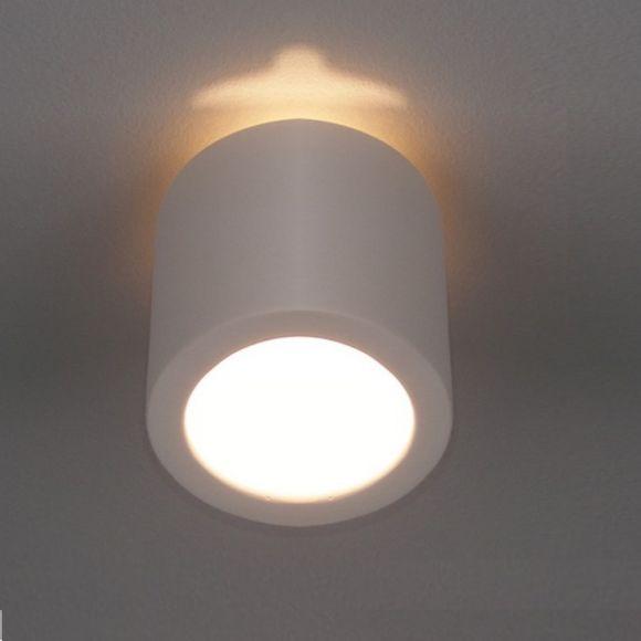 Deckenleuchte, Keramik, Weiß, 2 Höhen