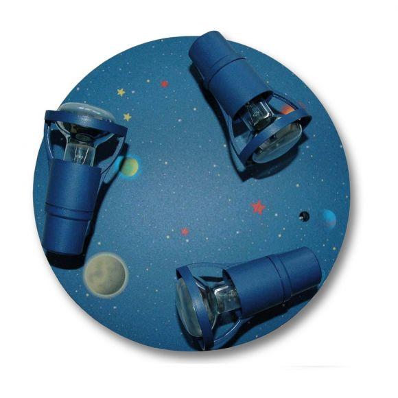 Deckenrodell Shuttle in dunkelblau