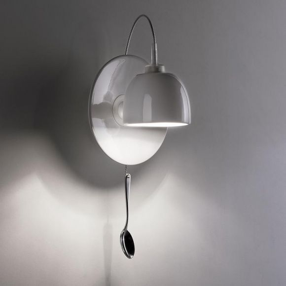 Design-Wandleuchte Light au Lait by Ingo Maurer