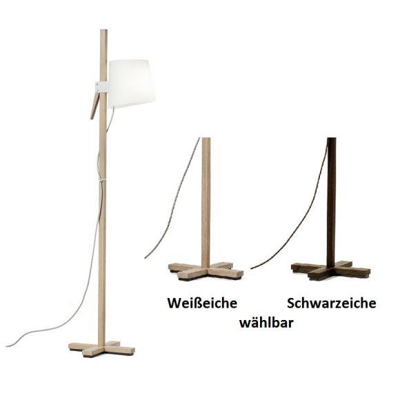 domus design standleuchte dimmbar mit fu dimmer wohnlicht. Black Bedroom Furniture Sets. Home Design Ideas