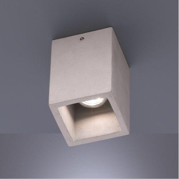 Down Light  Deckenleuchte Cube aus Beton