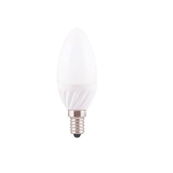 E14 LED Kerzenlampe Opal, C35, 4 Watt, dimmbar