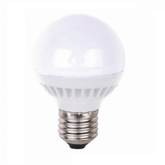E27 LED Kugellampe, D45, 3 Watt