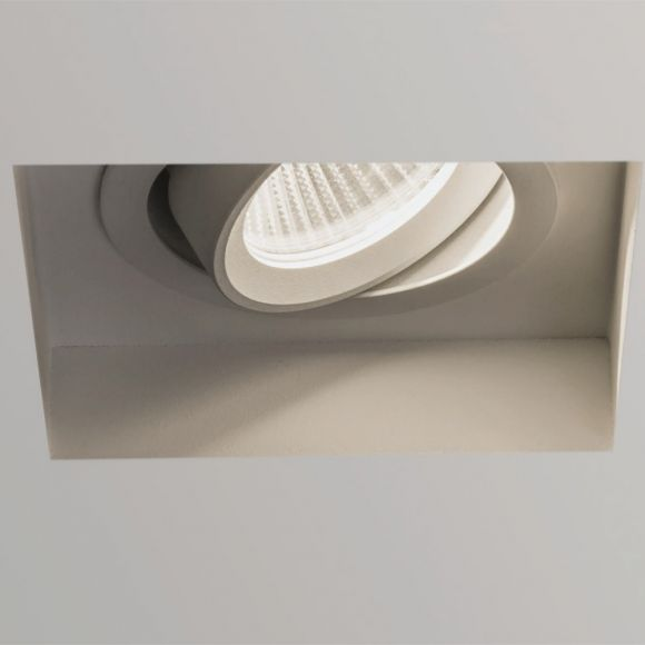 Einbaustrahler in Weiß, 7,4 Watt LED dimmbar, IP20
