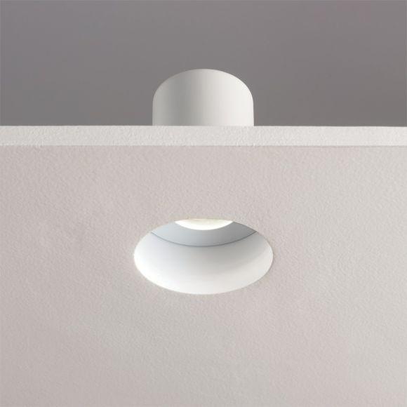 Einbaustrahler in Weiß, Mattglas, für 1xGU10 50W, IP65
