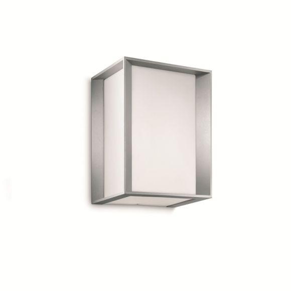 energiesparende Außenwandleuchte mit fünf Lichtaustritten inklusive 14W Energiesparlampe