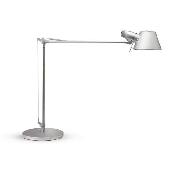 Energiespar-Schreibtischleuchte - Aluminium -  Silber