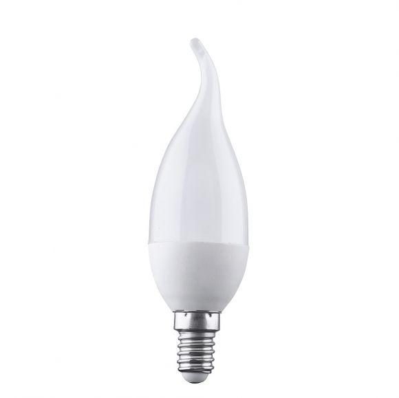 4 fach dimmbare Switchmo LED E14 Windstoßkerze 3,5W matt  3000K
