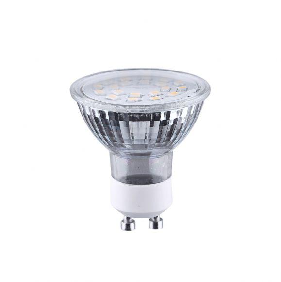 4 fach dimmbar - LED GU10 Reflektor 4W matt  3000K
