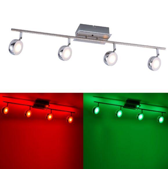 4 flm.LED Deckenbalken Opti mit RGB und CCT und Fernbedienung