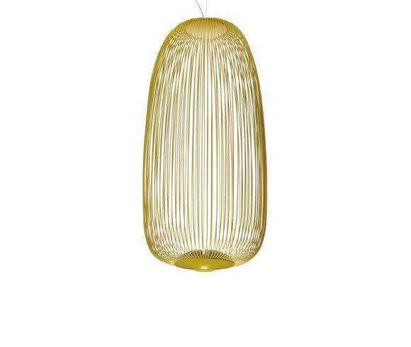 Foscarini LED-Pendelleuchte Spokes 1 - Gelb