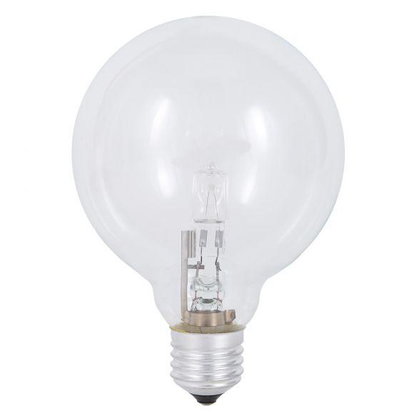 G80 Globe, 28 oder 42 Watt E27, klar, Durchmesser 8 cm