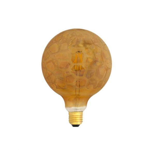 G95 LED Globe Krokoeis-gold