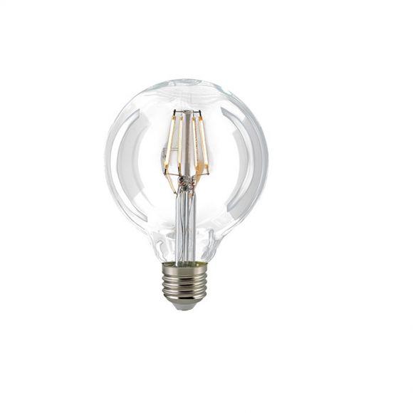 G95 LED Globelampe Filament  E27  2700K dimmbar - 4 Watt