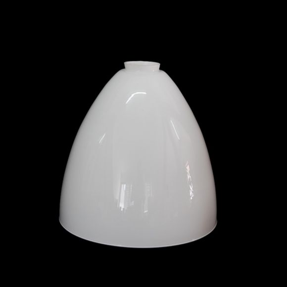 Glas opal weiss Ø 25cm mit Griffrand