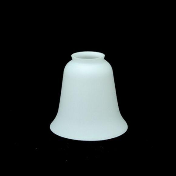 Glas weiß matt, Ø13 cm, Höhe 12cm