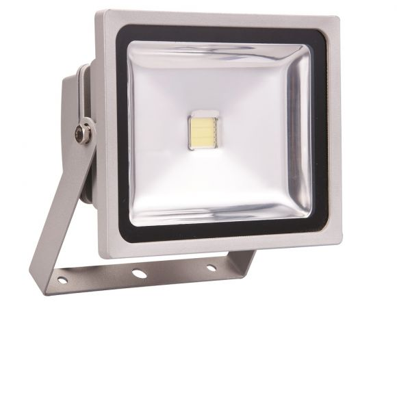 High-Power-LED Außenstrahler  - Aluminium - Inklusive LED 30 Watt  2300 Lumen - 4000 Kelvin
