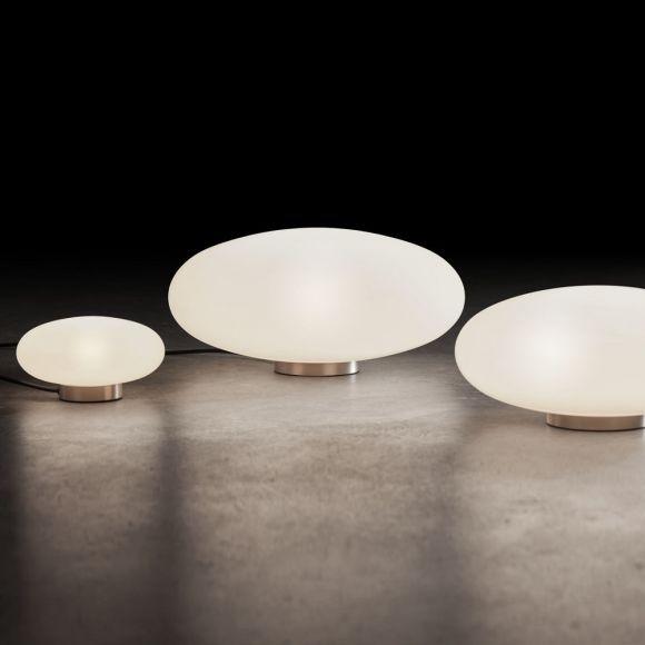 Holtkötter LED-Tischleuchte mit Opalglas in 3 Größen