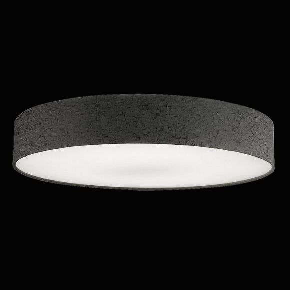 hufnagel led deckenleuchte strukturschirm crash anthrazit. Black Bedroom Furniture Sets. Home Design Ideas