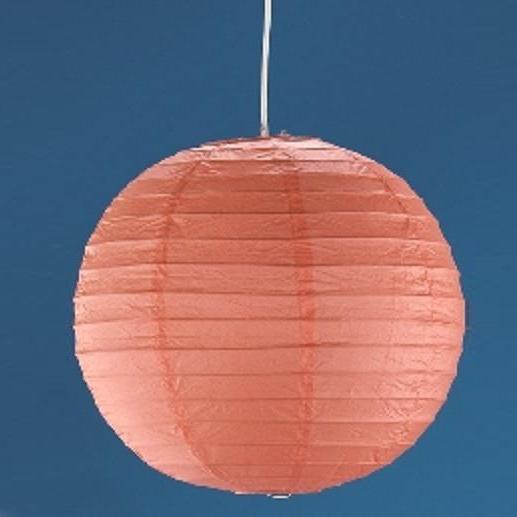 Japankugel in orange - 40cm Durchmesser inklusive Schnurpendel