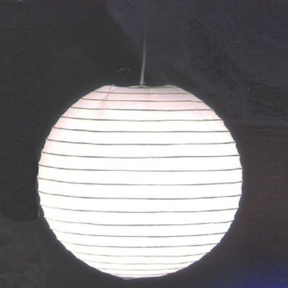 LHG Japankugel in weiß - 60cm Durchmesser inklusive Schnurpendel