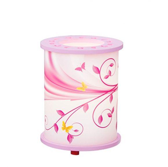 Kinderzimmer Tischleuchte Phantasie lindgrün oder rosa