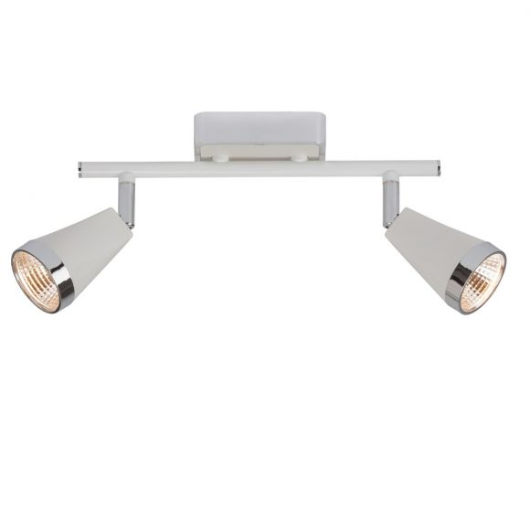 Klassischer Strahlerbalken mit LED-Leuchtmittel - Deckenstrahler 2-, 3- oder 4-flammig