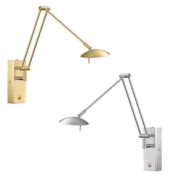 Knapstein Hochwertige LED Wandleuchte - 2 Oberflächen
