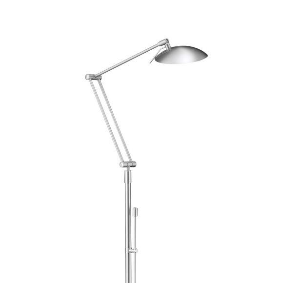 Knapstein Hochwertige LED-Leseleuchte mit Tastdimmer
