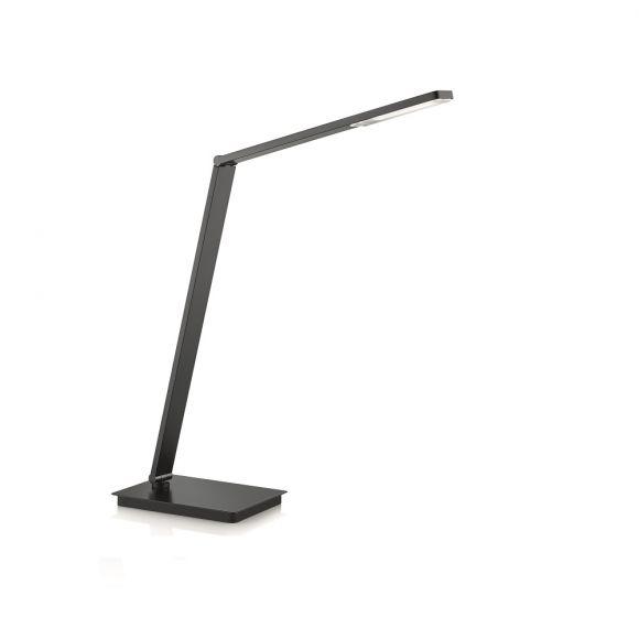 Knapstein LED Tischleuchte inkl. 10,8W LED, Gestensteuerung Dimmer, 3 Farben