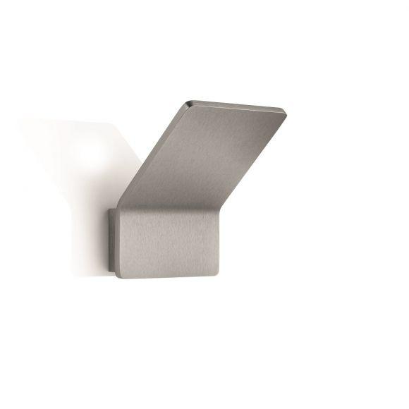 Knapstein LED Wandleuchte Flurbeleuchtung in Nickel matt oder Weiß