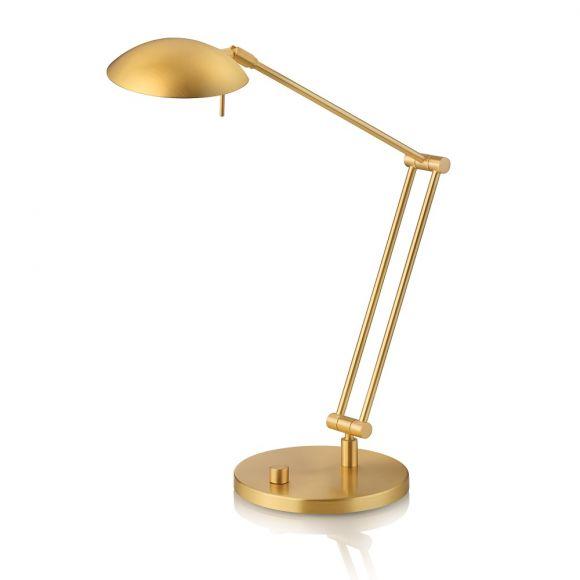 Knapstein LED-Tischleuchte mit Drehpoti