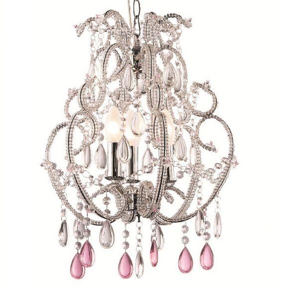 kronleuchter argento violette 3 flammig wohnlicht. Black Bedroom Furniture Sets. Home Design Ideas