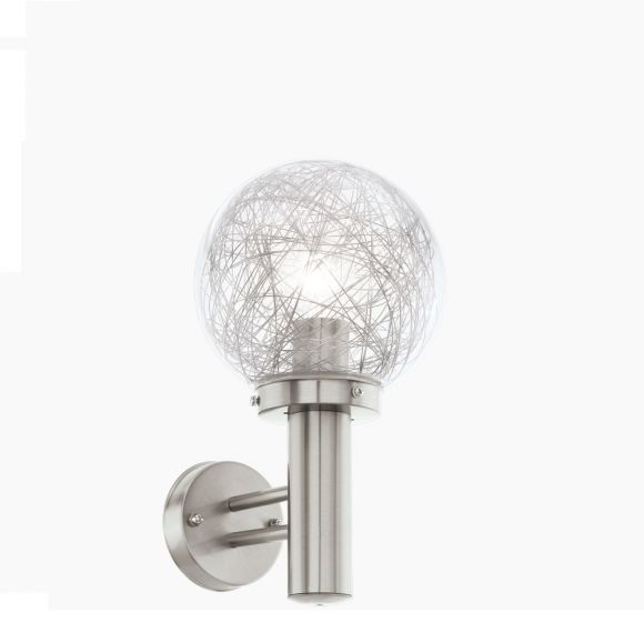 Kugelleuchte Wandlampe aus Aluminium