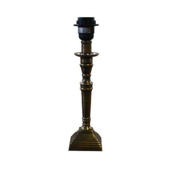 Lampenfuß Höhe 46cm in antiker Bronzefärbung