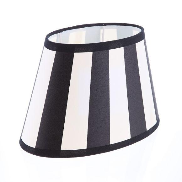 lampenschirm wei oval. Black Bedroom Furniture Sets. Home Design Ideas