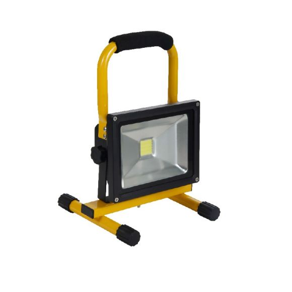 led akku fluter 20 watt 4400 mah lithium ionen akku ip65 wohnlicht. Black Bedroom Furniture Sets. Home Design Ideas