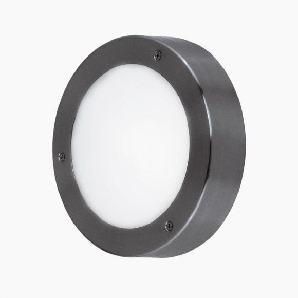 LED Außenleuchte Vento 18,5 cm, verzinkt, anthrazit