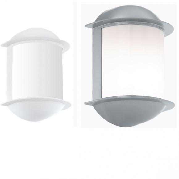 LED Außenwandleuchte Isoba in weiß oder silber