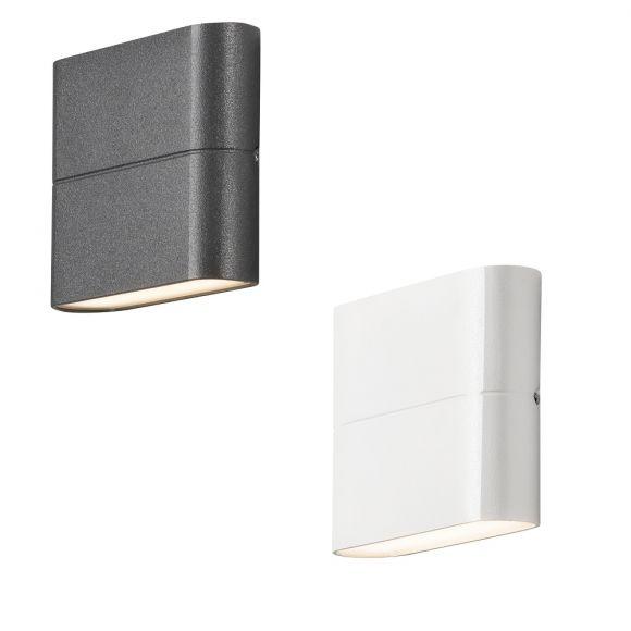 LED Außenwandleuchte New Chieri - Weiß oder Anthrazit