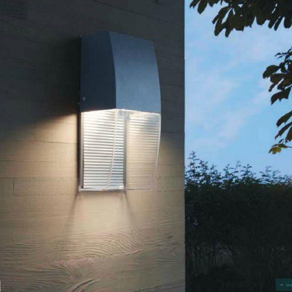 LED Außenwandleuchte Servoi