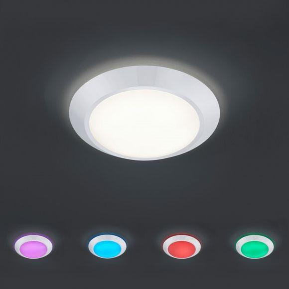 LED Deckenleuchte  mit RBG- Farbwechsel - dimmbar