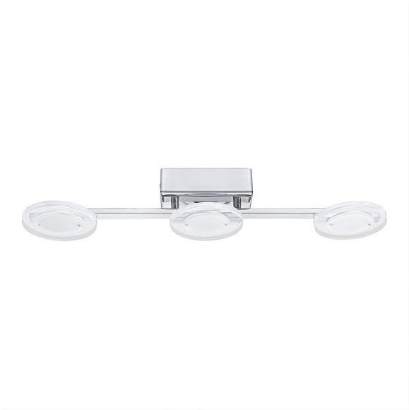 LED-Deckenleuchte Cartama Gläser rund