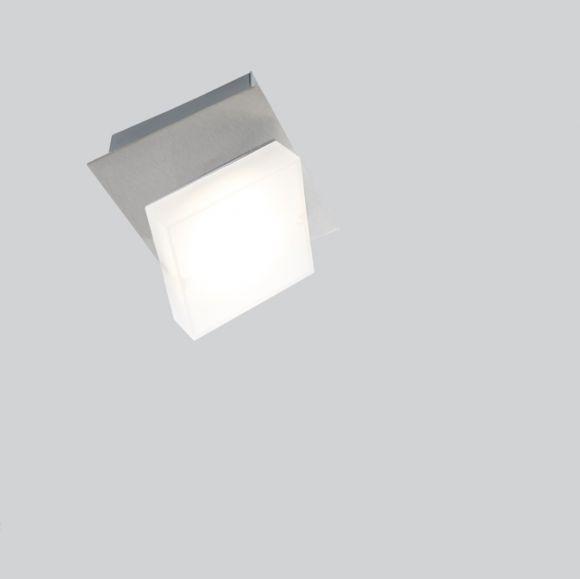 LED Deckenleuchte Denise Nickel matt-schwenkbare Spots